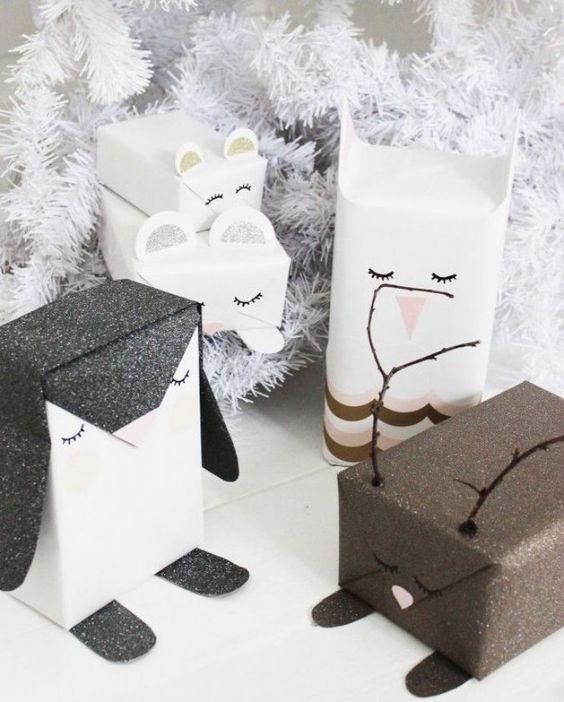 I vánoční dárečky si zaslouží být pěkně zabalené
