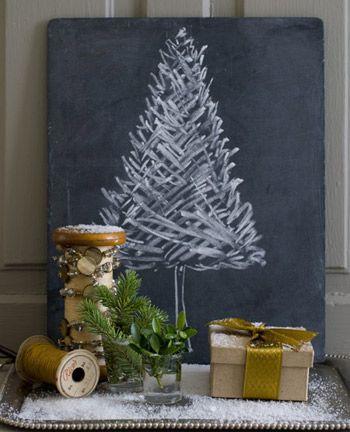 Vánoční stromeček jinak
